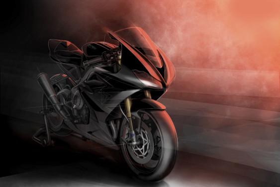 Nouvelle Triumph Daytona  765 Moto2